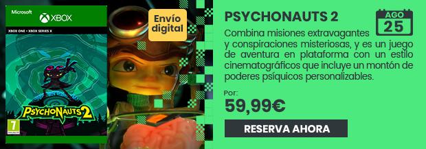 xtralife   Comprar Psychonauts 2 - Xbox Series, Xbox Smart Delivery, Estándar   Digital