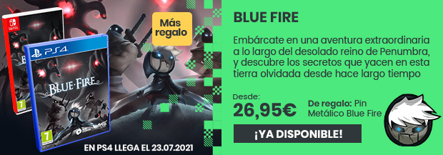 xtralife   Comprar Blue Fire - Estándar, PS4, Switch