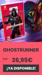 xtralife   Comprar Ghostrunner - Switch, Estándar