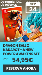 xtralife   Reservar Dragon Ball Z Kakarot + A New Power Awakens Set - Switch, Estándar