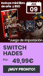 xtralife   Reservar Hades - Switch, Estándar - EEUU