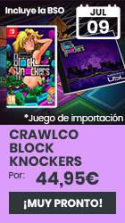 xtralife   Reservar Crawlco Block Knockers - Switch, Estándar - UK