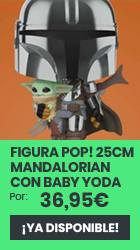 xtralife   Reservar Figura POP! Mandalorian con Baby Yoda en Brazos Star Wars The Mandalorian 25cm