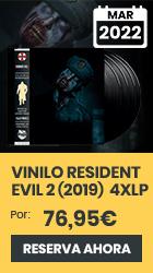 xtralife   Reservar Vinilo Resident Evil 2 (2019) (Original Soundtrack) (4 x LP) - Vinilo
