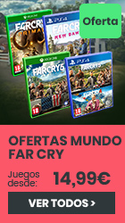 xtralife   Comprar Ofertas Mundo Far Cry - Complete Edition, Estándar, Pack merchandising, PS4, Xbox One