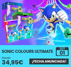 xtralife | Comprar Sonic Colours Ultimate - Day One, Vanilla, PS4, Switch, Xbox One, Xbox Series