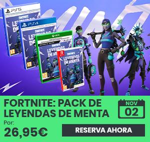 xtralife | Comprar Fortnite: Pack de Leyendas de Menta - Estándar, PS4, PS5, Switch, Xbox One, Xbox Series