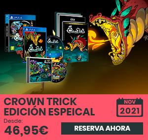 xtralife | Comprar Crown Trick Edición Especial - Limitada, PS4, Switch
