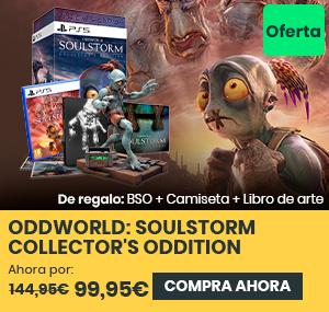 xtralife | Comprar Oddworld: Soulstorm - Coleccionista, Day One, PS4, PS5
