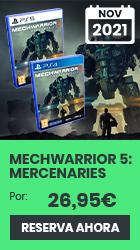 xtralife | Comprar MechWarrior 5: Mercenaries - Estándar, PS4, PS5
