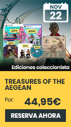 xtralife | Comprar Treasures of the Aegean - Coleccionista, PS4, PS5, Switch