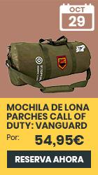 xtralife | Reservar Mochila de Lona Parches Call of Duty: Vanguard - Mochilas, Mochila
