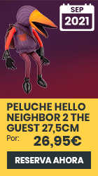xtralife | Reservar Figura Hello Neighbor 2 Peluche The Guest con sonido 27.5cm - The Guest