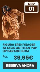 xtralife | Reservar Figura Eren Yeager Attack on Titan Pop Up Parade 15cm - Figura